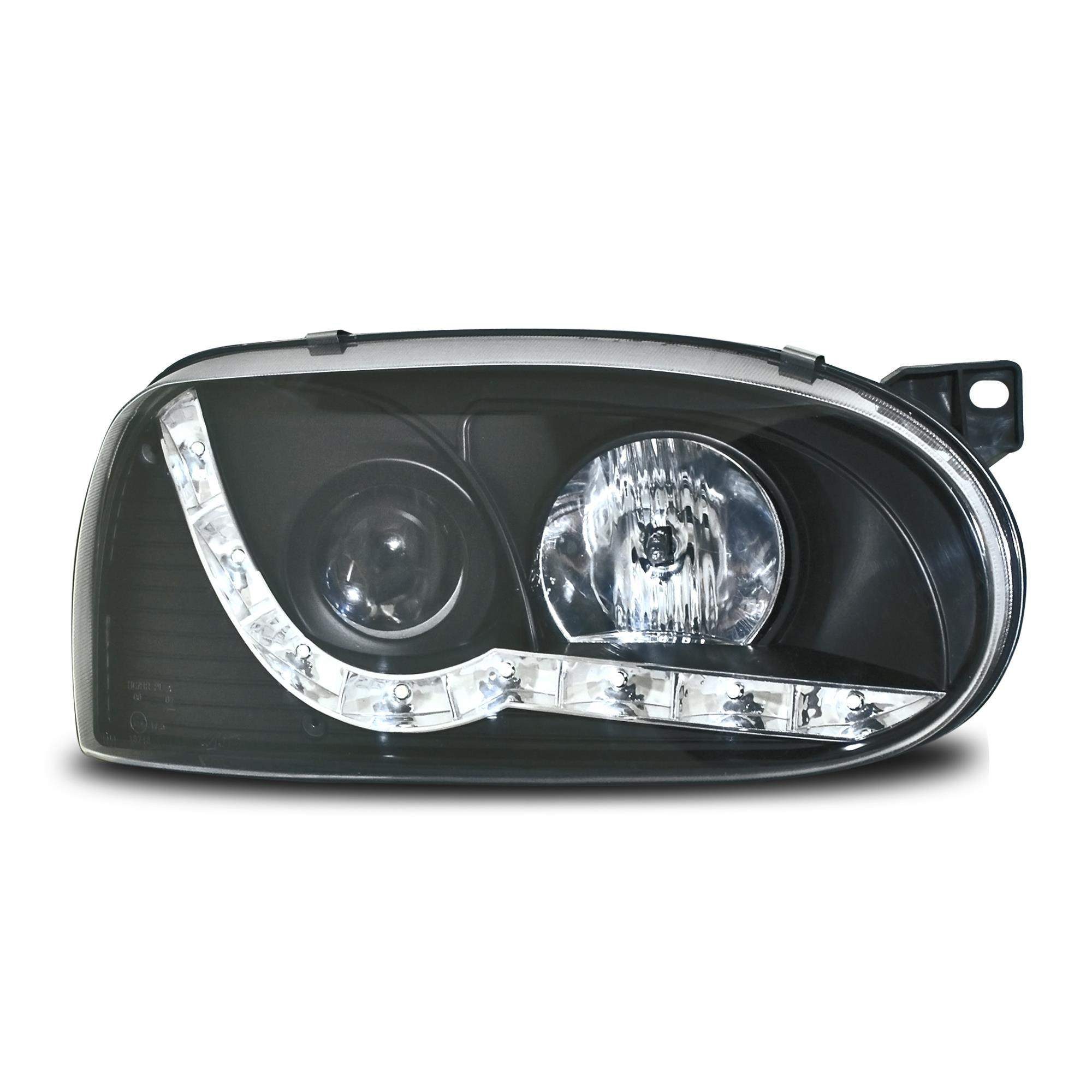 vw golf 3 1h led tagfahrlicht tfl optik klarglas. Black Bedroom Furniture Sets. Home Design Ideas
