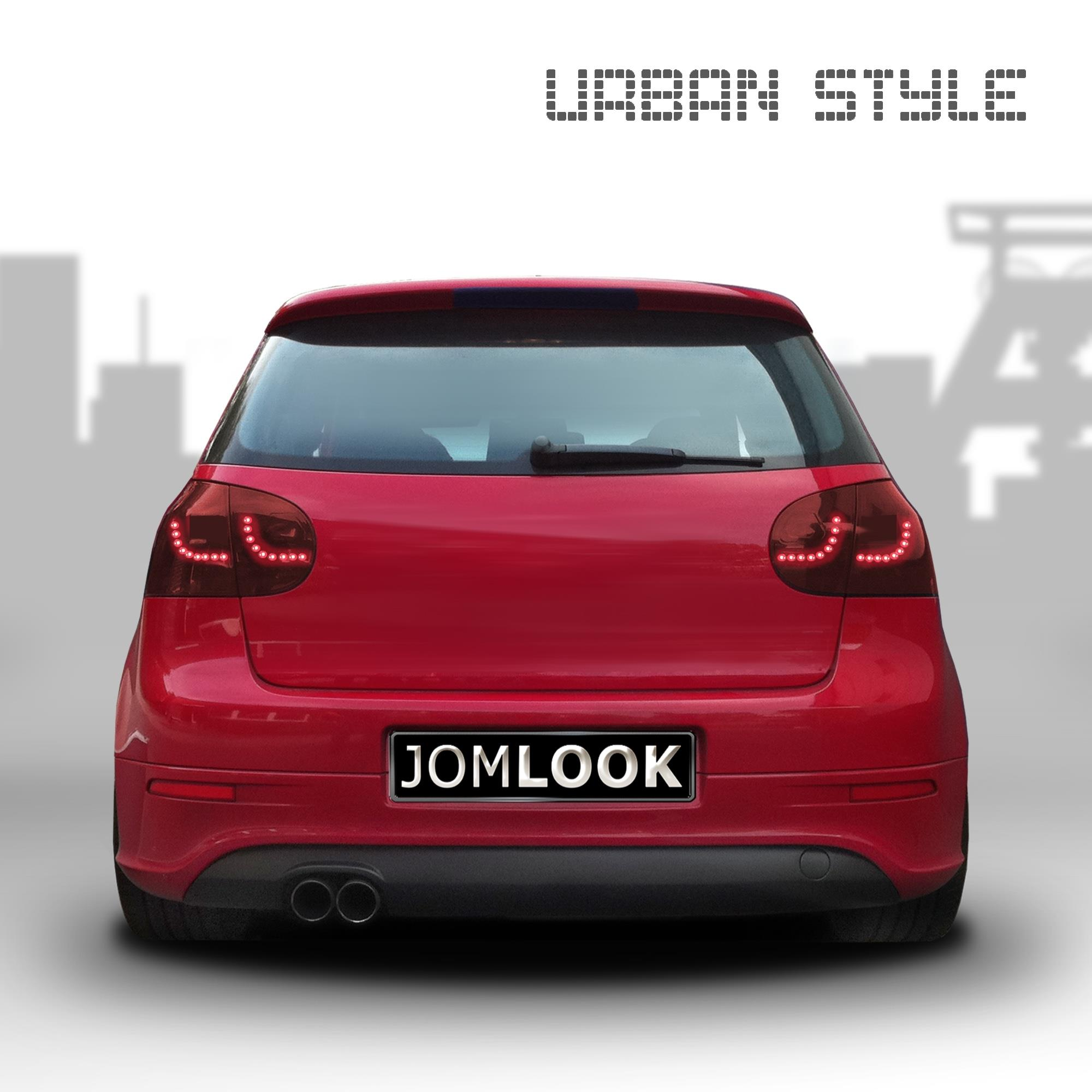 vw golf 5 urban style led r ckleuchten r cklichter rot. Black Bedroom Furniture Sets. Home Design Ideas