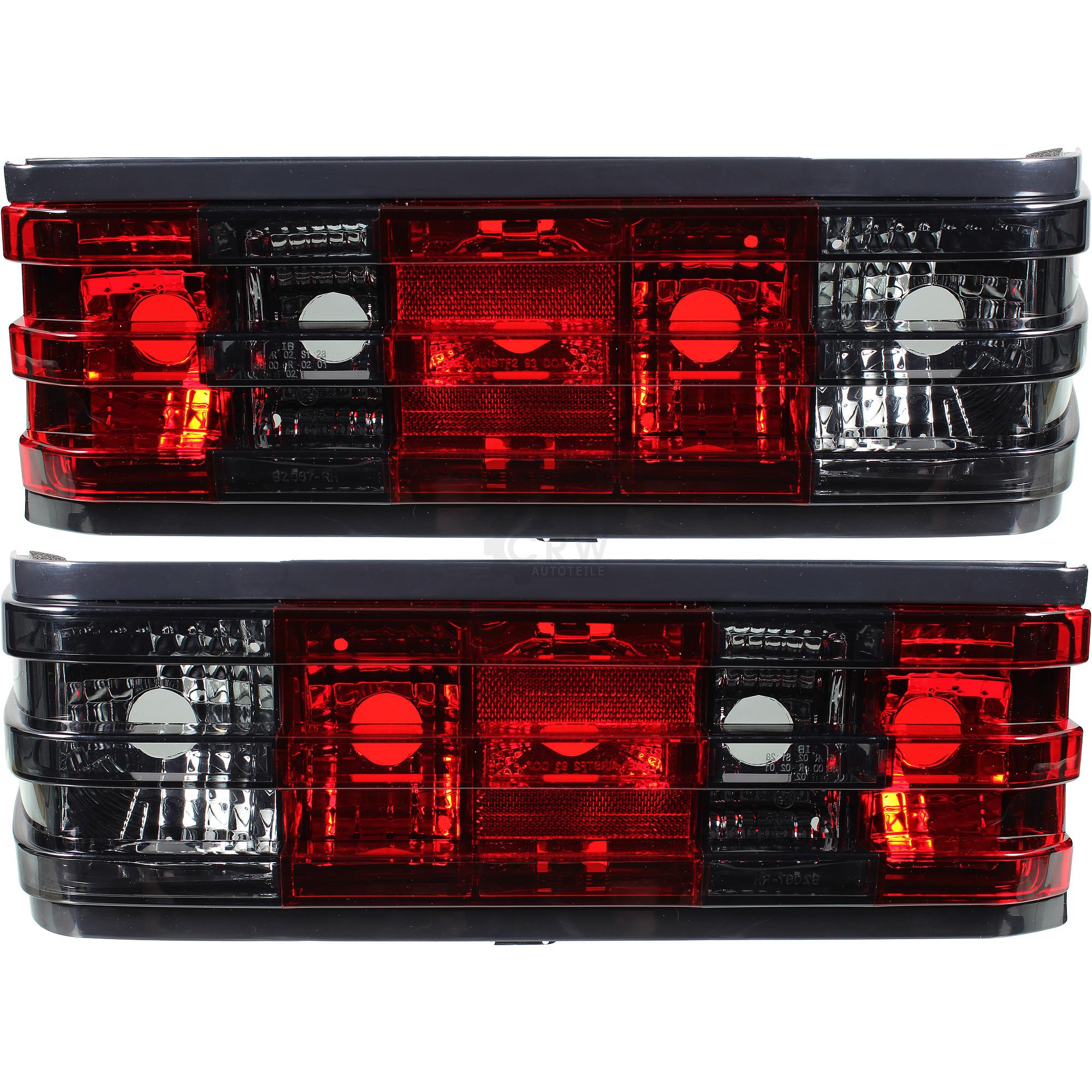 Rot schwarze Rückleuchten Kristall für Mercedes 190 W201