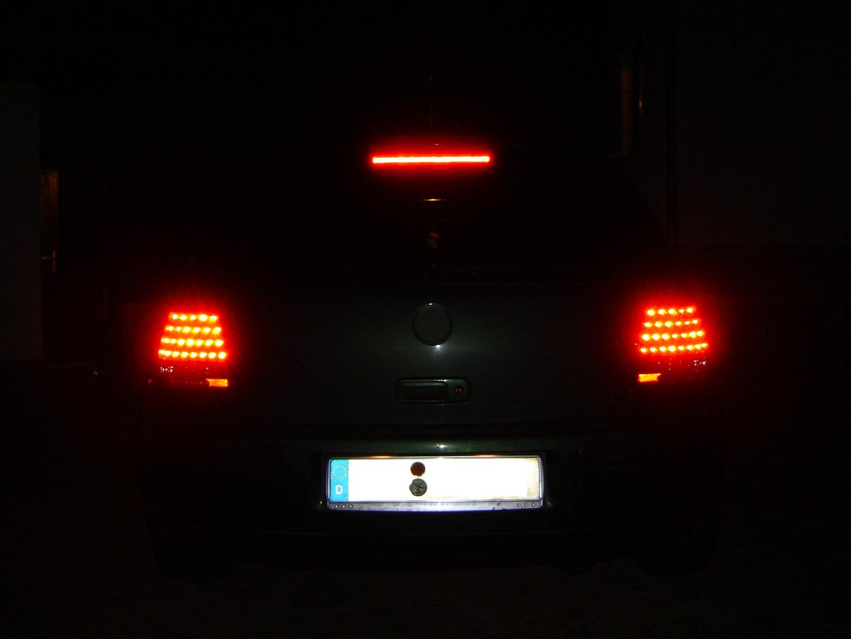 led r ckleuchten tagfahrlicht scheinwerfer vw golf 4 c ebay. Black Bedroom Furniture Sets. Home Design Ideas