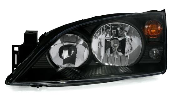 scheinwerfer klarglas ford mondeo mk3 schwarz -06/07 | ebay