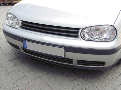JOM Kühlergrill VW Bora schwarz Sport Grill Frontgrill ohne Emblem ABS NEU